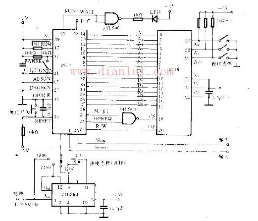 微处理测试图形发生器电路