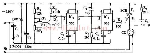 家用电器保护器电路原理图