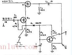 新型特大脉宽单稳态多谐振荡器电路图