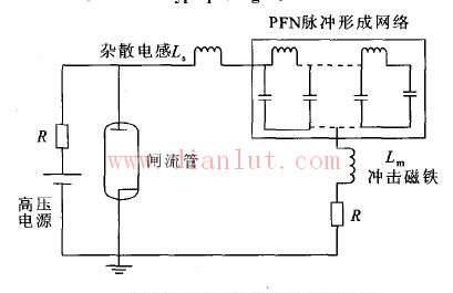 浅谈简化PFN型脉冲发生器原理电路图