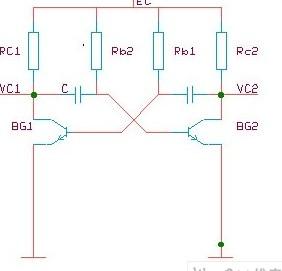 多谐振荡器电路